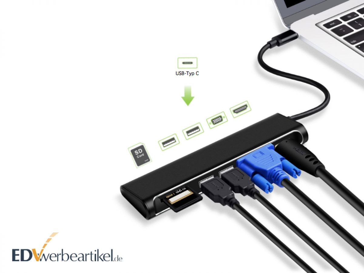 eSport Werbeartikel - USB Hub Dockingstation