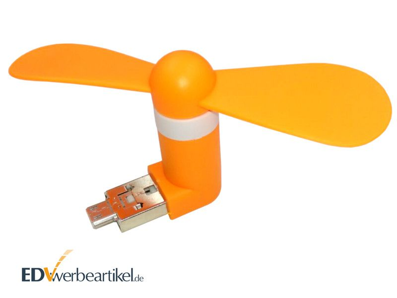 USB Ventilator Werbeartikel DOUBLE AIR