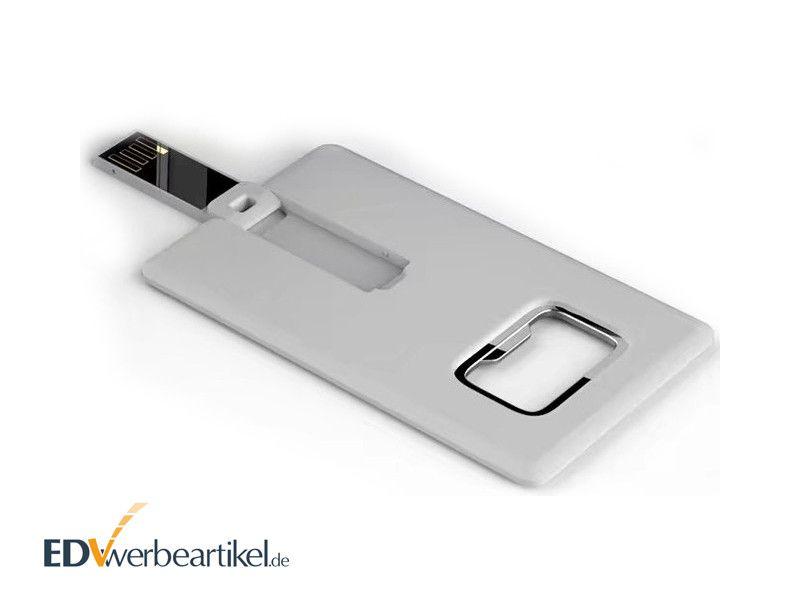 USB Visitenkarte Flaschenöffner Werbeartikel