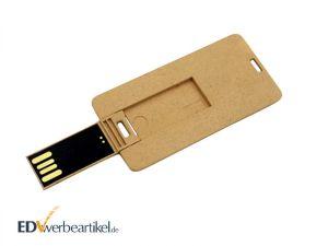 USB Visitenkarte RECYCLED als Werbemittel bedrucken