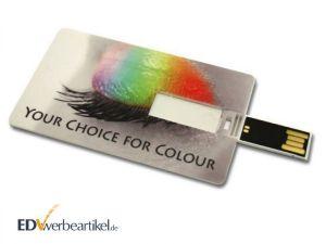 USB Visiten-Kredit-Karte als Werbeartikel bedrucken