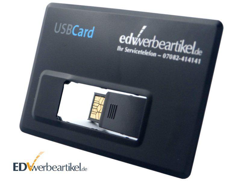 USB Visitenkarte mit Logo bedrucken