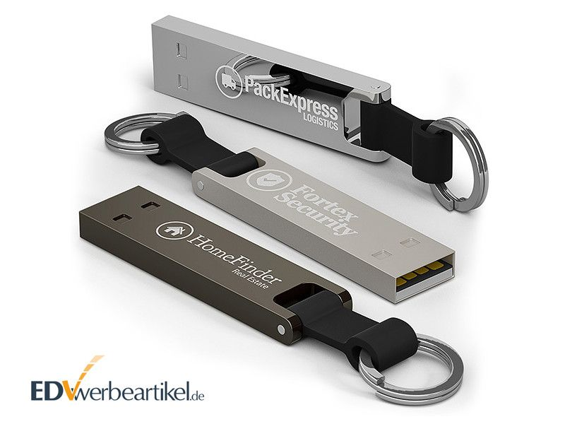 USB Stick Werbung mit Logo bedrucken BRIDGE