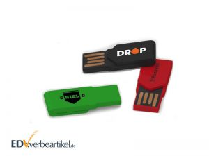 Büro Werbegeschenk USB Stick bedrucken - Office Clip mit Klammer