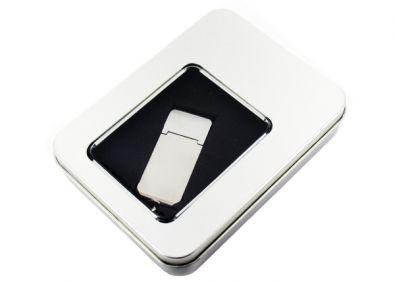 USB Sticks edel verpacken: In der Metallbox mit Fenster