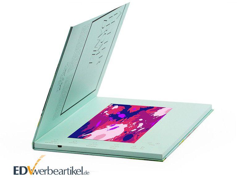 Videocard mit LCD Display als Werbemittel