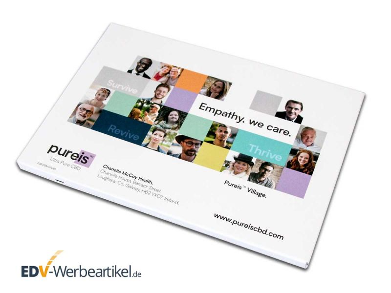 Videocard mit Ihrem Werbedruck