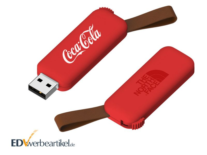 Werbe USB Stick RODEO - rot