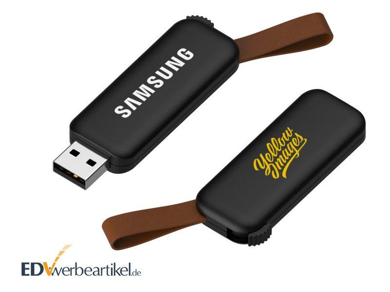 Werbe USB Stick - schwarz