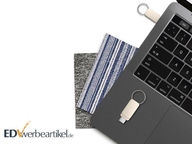 USB Stick PRAGUE Micro USB bedrucken oder gravieren lassen