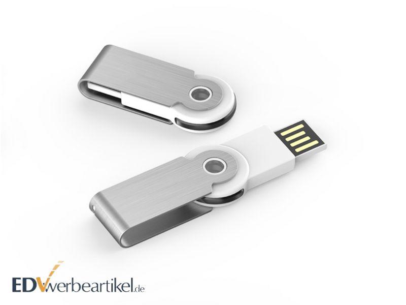 Mini USB Stick 360 mit Logo bedrucken