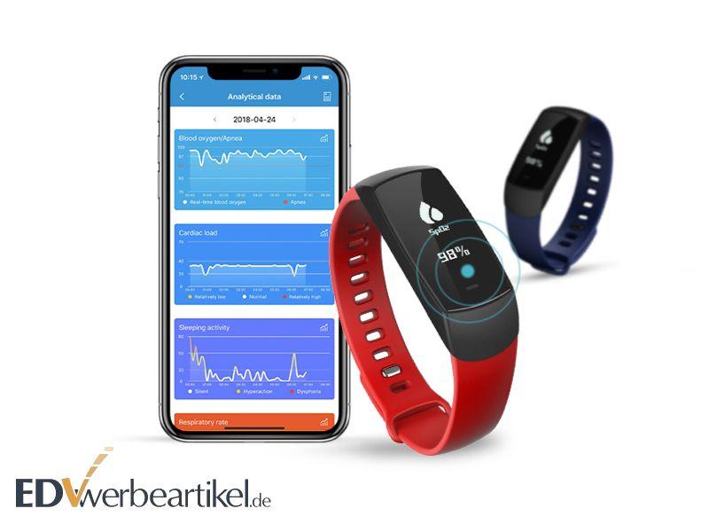 Fitness Werbegeschenk - Sport Werbeartikel - Armband Werbemittel
