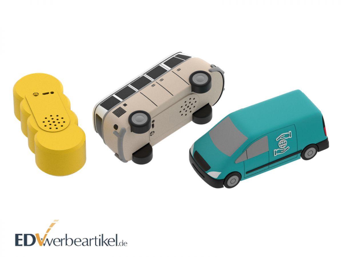 Werbeartikel Bluetooth Speaker in individueller 3D Sonderform gestalten