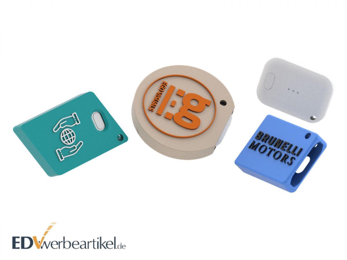 Gestalten Sie jetzt Ihren individuellen Bluetooth Tracker in 2D Sonderform!