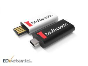 USB Stick Typ C HIDE mit Logo