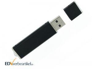 Werbeartikel USB Stick mit Logo bedrucken - Mini Alu SILVER