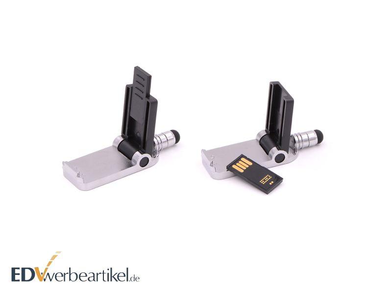 aufklappbarer USB Stick Werbeartikel TEXAS