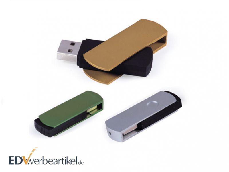 Werbegeschenk bedrucken USB Stick TWISTER