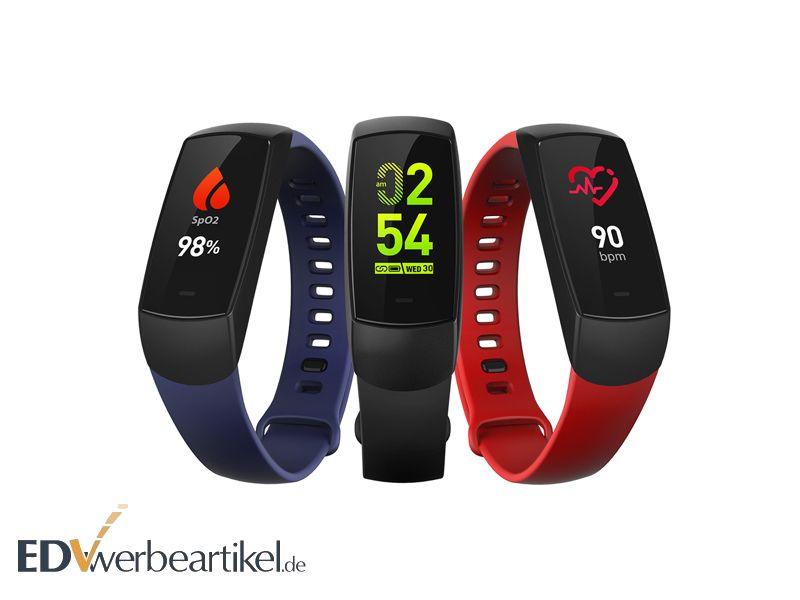 Fitness Armband Werbeartikel mit Logo bedrucken - Werbemittel