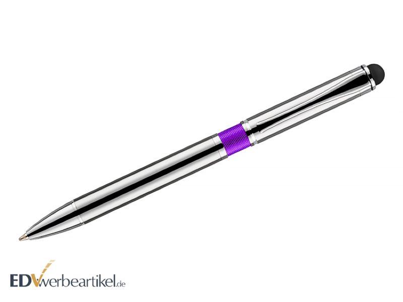 Kugelschreiber Touchpen LEGACY purple