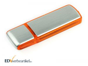 Werbegeschenk USB Stick mit Logo bedrucken Simple Alu ONE