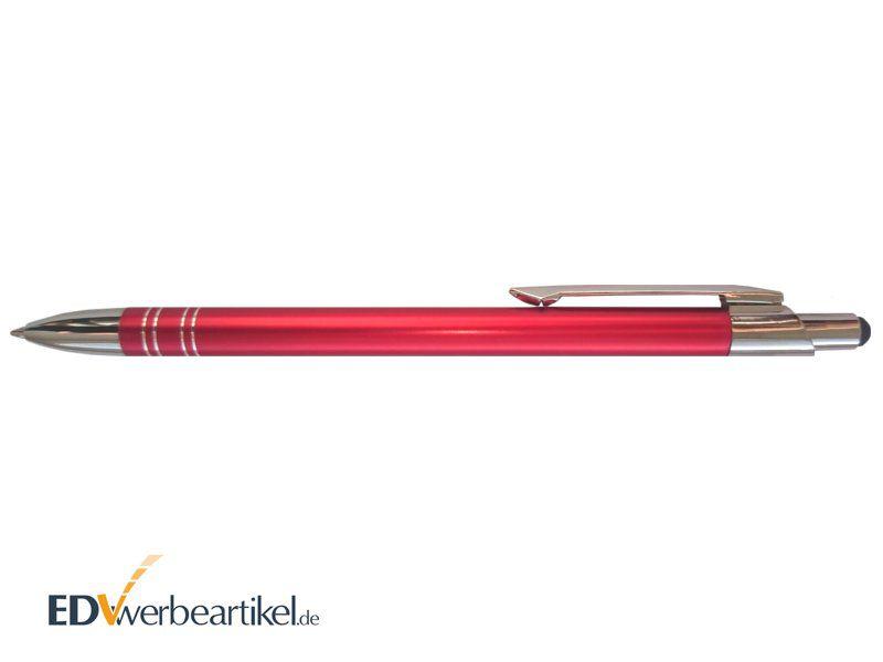 Werbemittel Touchpen Aluminium Kugelschreiber mit Logo bedrucken