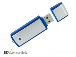 Werbemittel USB Stick mit Logo bedrucken Simple Alu ONE