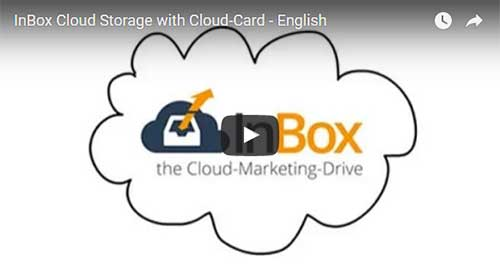 InBox Cloud Speicher mit Cloud-Card - Englisch