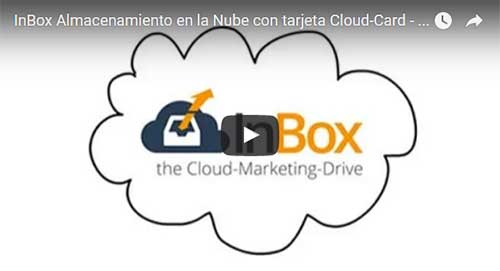 InBox Cloud Speicher mit Cloud-Card - Spanisch