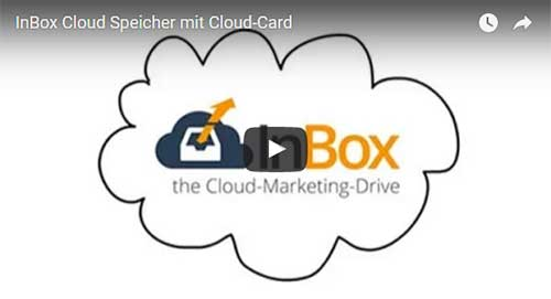 InBox Cloud Speicher mit Cloud-Card - Deutsch