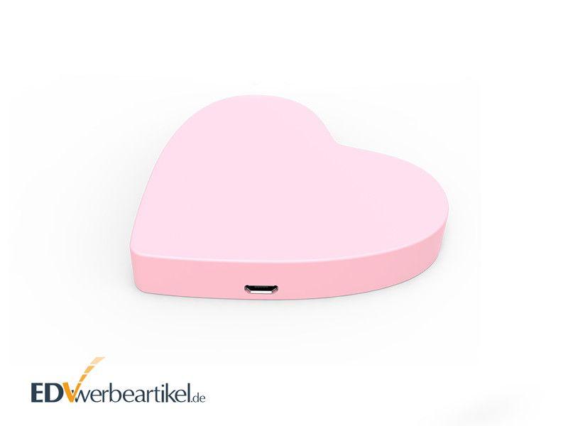 Wireless Charger als Herz 3D SONDERANFERTIGUNG