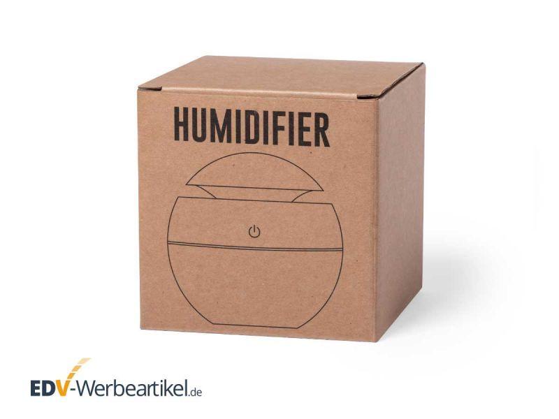 Luftbefeuchter WOODBALL umweltfreundlich und nachhaltig - auch bei der Verpackung