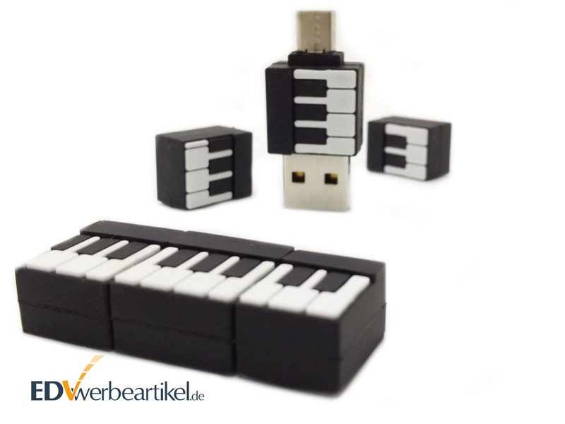 2in1 USB Stick in Sonderform OTG