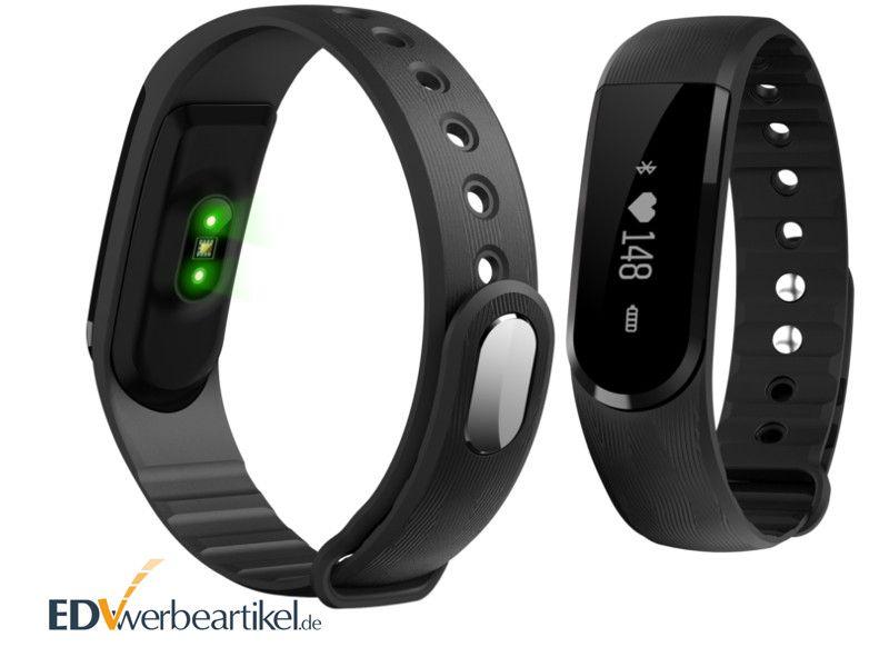 Fitness Armband Werbeartikel mit Pulsmesser Herzfrequenz