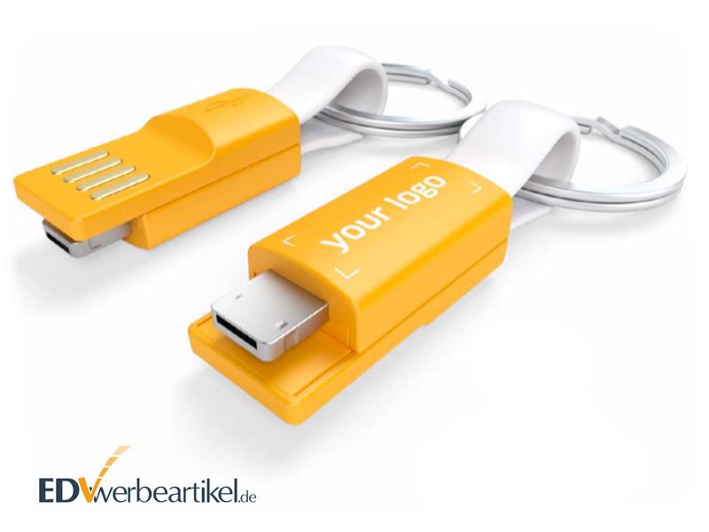 Smartphone Werbeartikel - USB Ladekabel mit Logo bedrucken