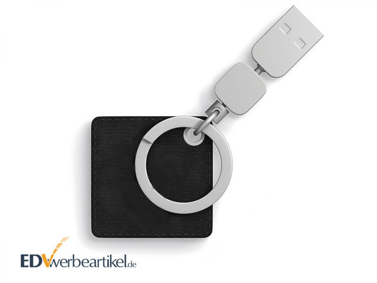 Leder USB Stick Schlüsselanhänger